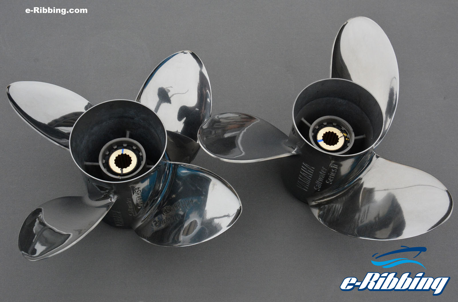 HS4 4-blade and the Saltwater Series II 3-blade Yamaha's propellers