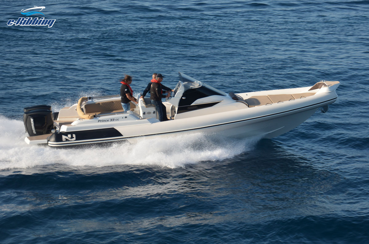 NUOVA JOLLY Prince 33cc - Twin 300hp G2 Evinrude